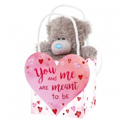 Me to You 13 cm ours avec sac